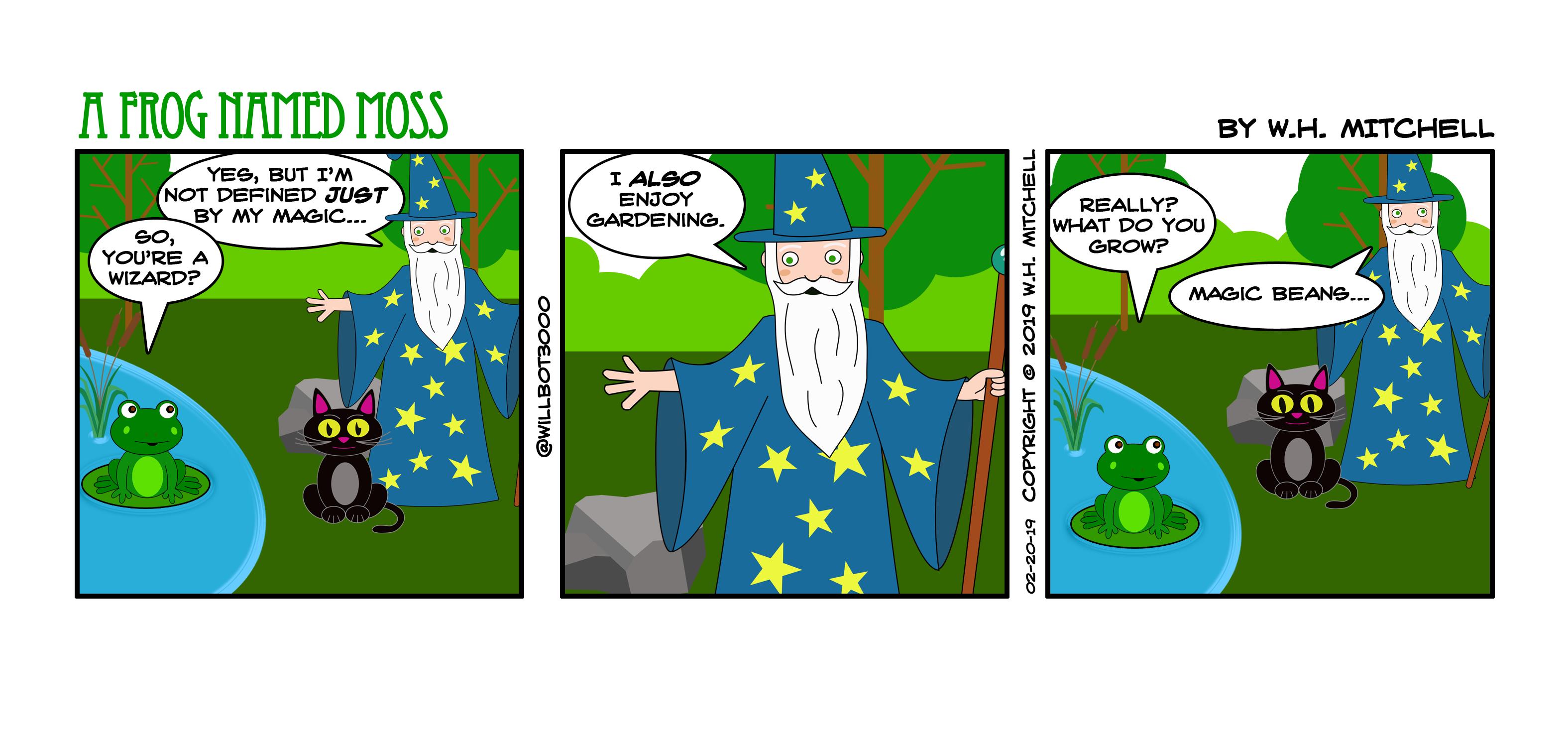 A Bit of Gardening - Comic 02/20/19