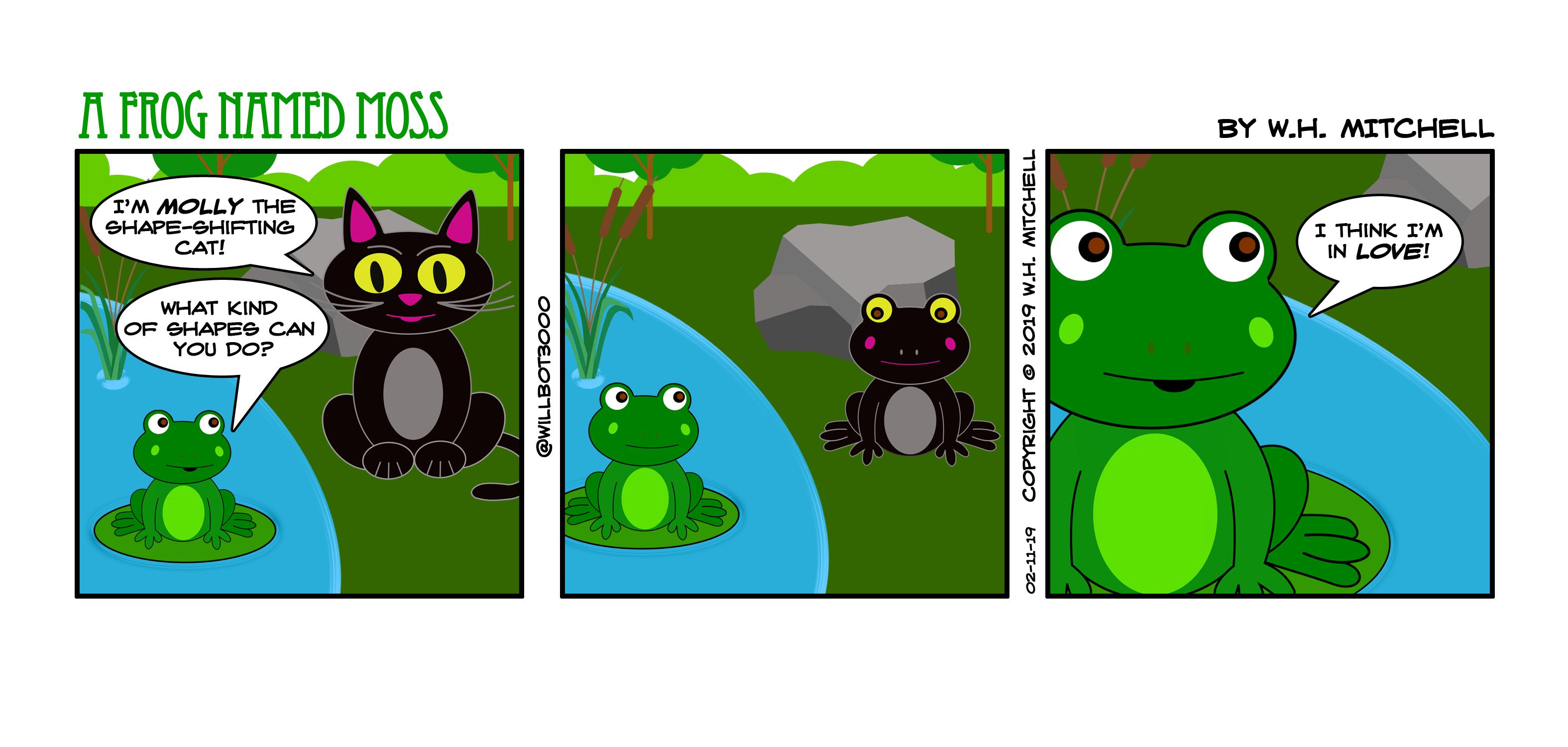 LilyPad Love - Comic 021119