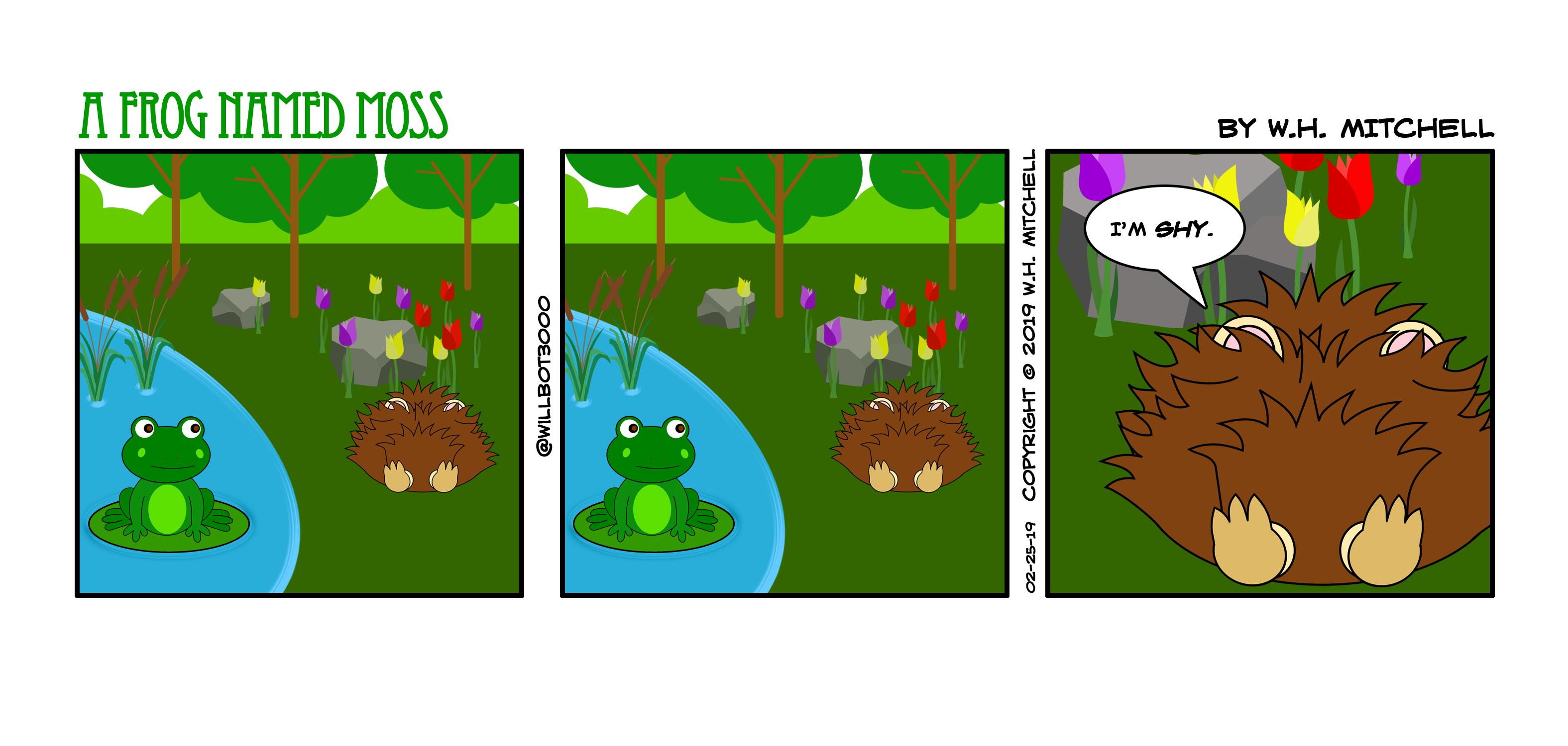 Shy as a Hedgehog (Comic - 2/25/19)
