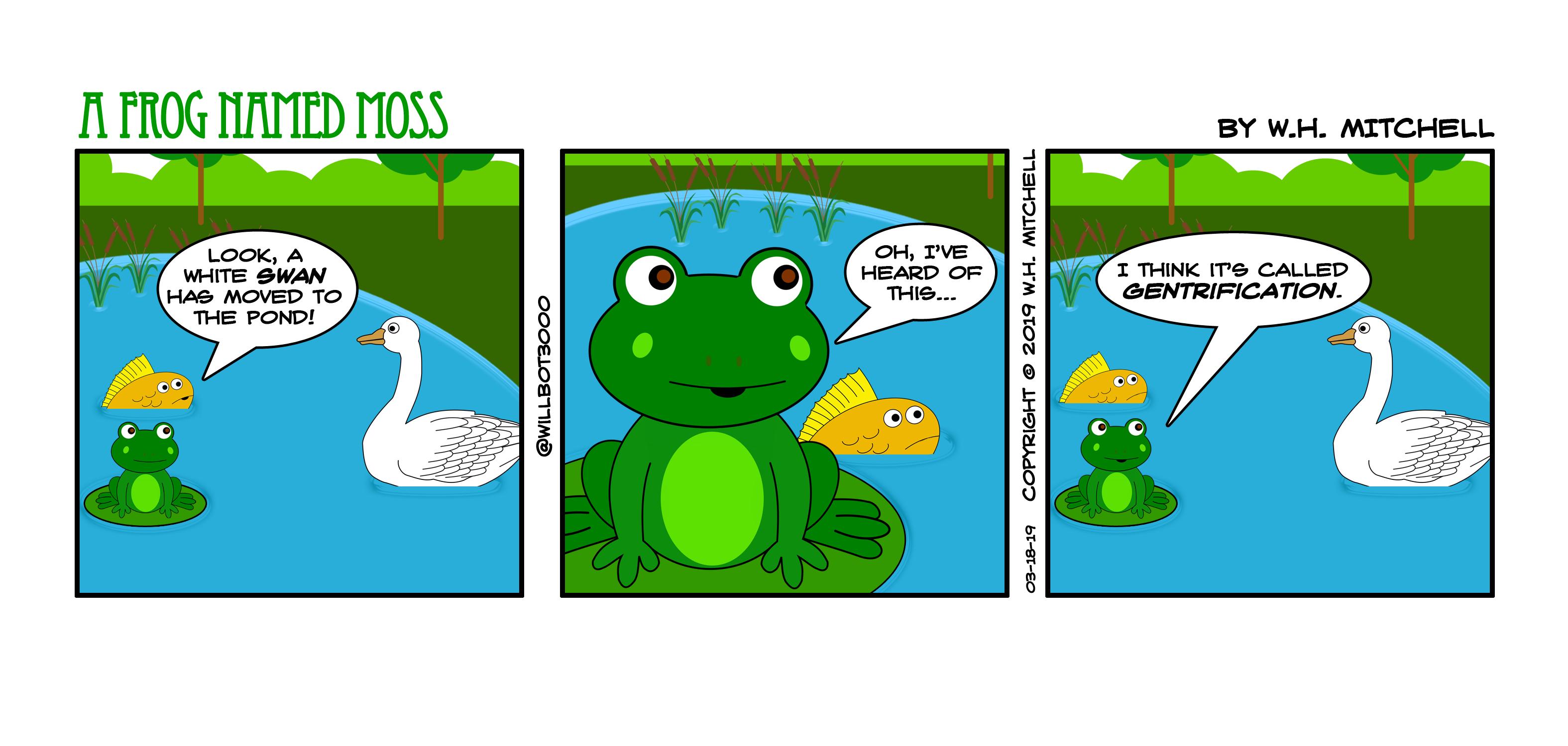 There Goes the Neighborhood! - Comic 3/18/19