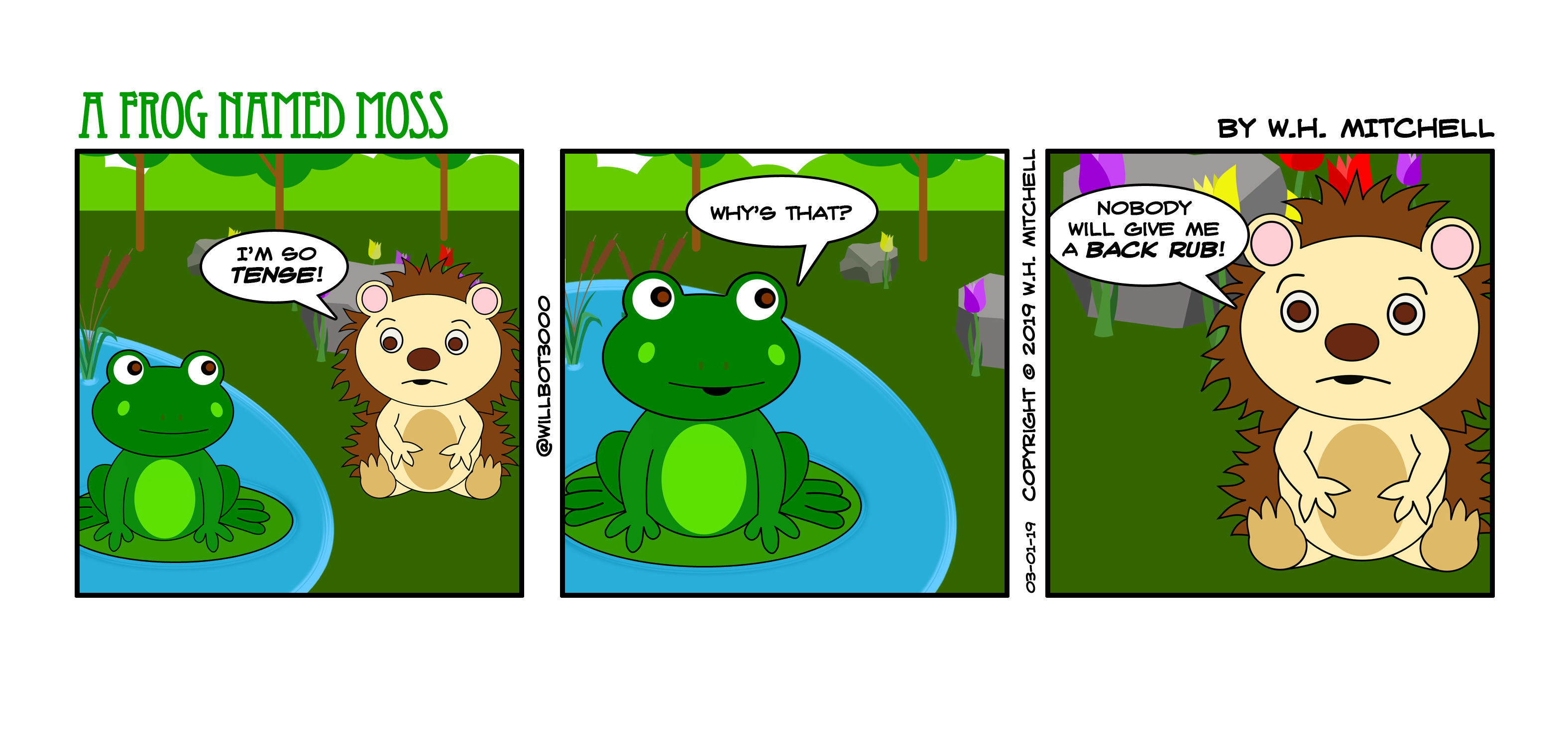There's the Rub - Comic 3/1/19